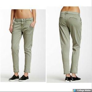 New HUDSON Womens Jamie Slim Chino Cropped Pant